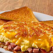 Ham & Cheese Omelette Plate