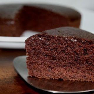 Healthy Chocolate Semolina Cake.