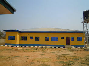 Photo: Suleja district MDGs clinic site.