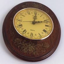 Photo: 1990 French wood clock #intercer #clock - via Instagram, http://instagr.am/p/LcuFgZJfng/
