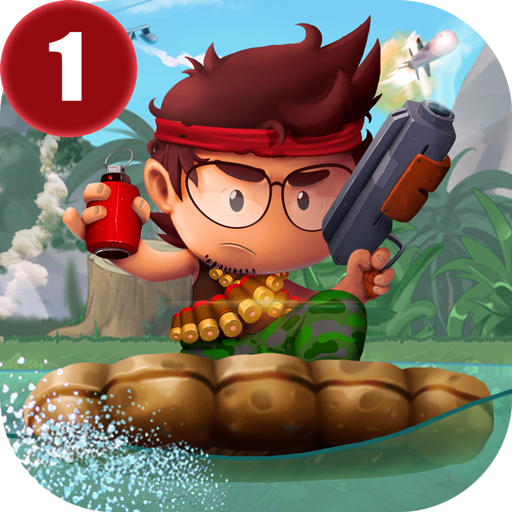 Ramboat - Offline Jumping Shooter and Running Game APK Cracked Download