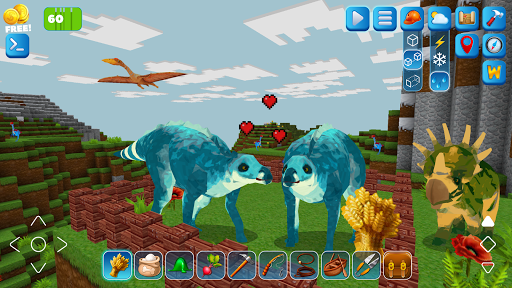RaptorCraft 3D: Survival Craft u25ba Dangerous Worlds 5.0.4 screenshots 4