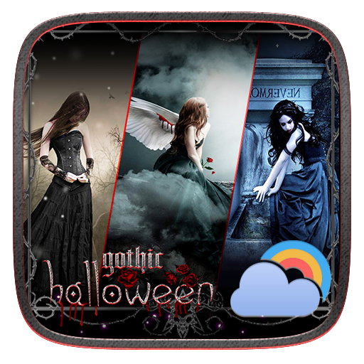 Gothic Halloween GO Weather Dynamic Backgrounds