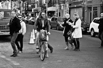 Photo: Shooting in Little Italy with +Simon Garnier and +Kurt Rogers #streetphotography