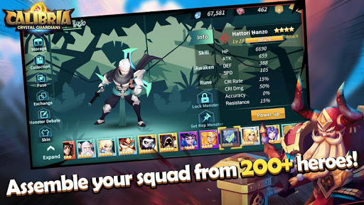 Download Calibria: Crystal Guardians MOD APK 2
