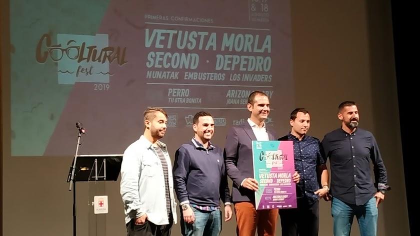 Vetusta Morla, Second y Depedro encabezan el cartel del Cooltural Fest