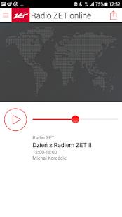 Radio ZET - náhled
