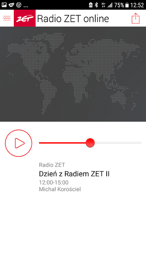 Radio ZET- screenshot
