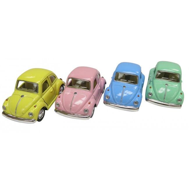 VW bubbla i pasteller
