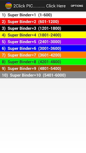 2Click PIC Telecom Color Code