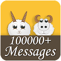 100000+ SMS Messages icon
