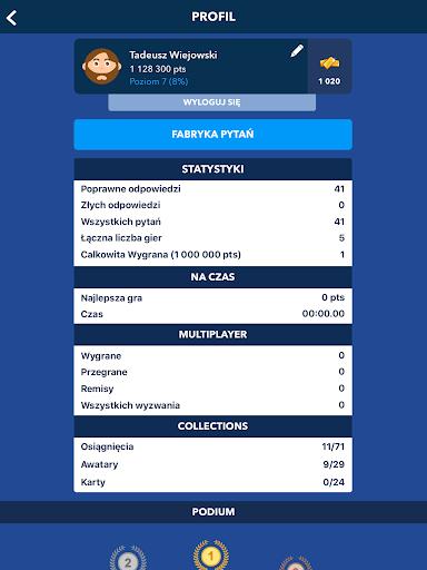 Super Quiz - Wiedzy Ogu00f3lnej Polskie android2mod screenshots 16