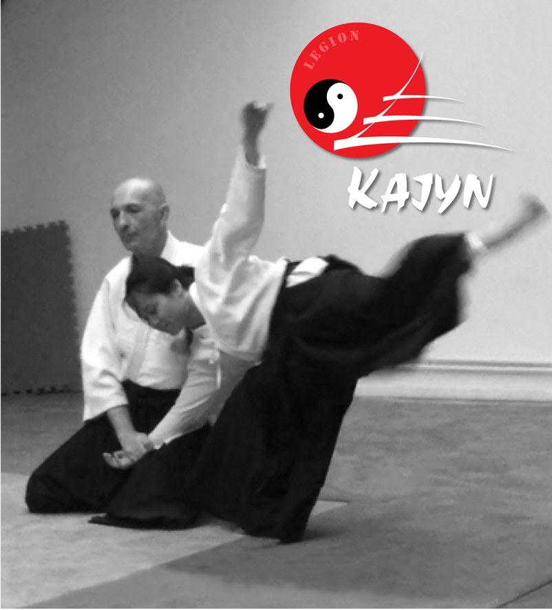 Richard Lévy et Angela Thai professeurs d'Aïkido au Kajyn Paris