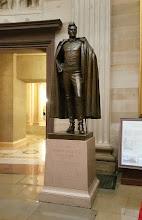 Photo: Statue of President Andrew Jackson, 1767-1845. Donated to the National Statuary Hall Collection by Tennessee in 1928 - http://www.aoc.gov/capitol-hill/national-statuary-hall-collection/andrew-jackson