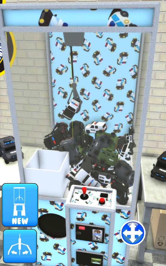 Police Prize Claw Machine Fun- screenshot