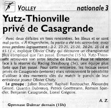 Photo: 23-10-11 N3M L'ASVB reçoit le RC Strasbourg sans Benjamin Casagrande