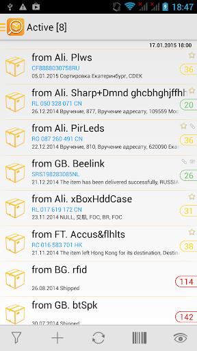 TrackChecker Mobile 2.25.8 screenshots 1