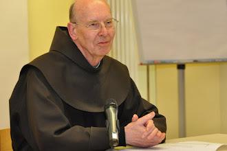 Photo: P. Dr. Heinz-Meinof Stamm OFM über 'Theologie Luthers und die Franziskaner'