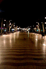 Photo: Noc bez spani v Barcelone. La Rambla.