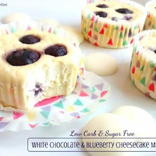 White Chocolate & Blueberry Cheesecake Muffins