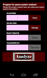 Easy Queue Analyzer - náhled