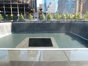 Photo: Reflection Pool of the South Tower.