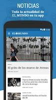 Screenshot of El Mundo