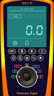 Multimeter/Oscilloscope/Sound Generator v2.0.1 (SAP) (Paid) 1