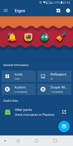 Ergon - Icon Pack screenshot 1