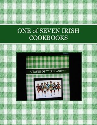 ONE of SEVEN IRISH COOKBOOKS
