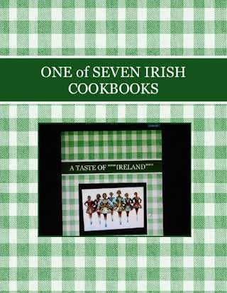 ONE of SEVEN IRISH COOKBOOKS
