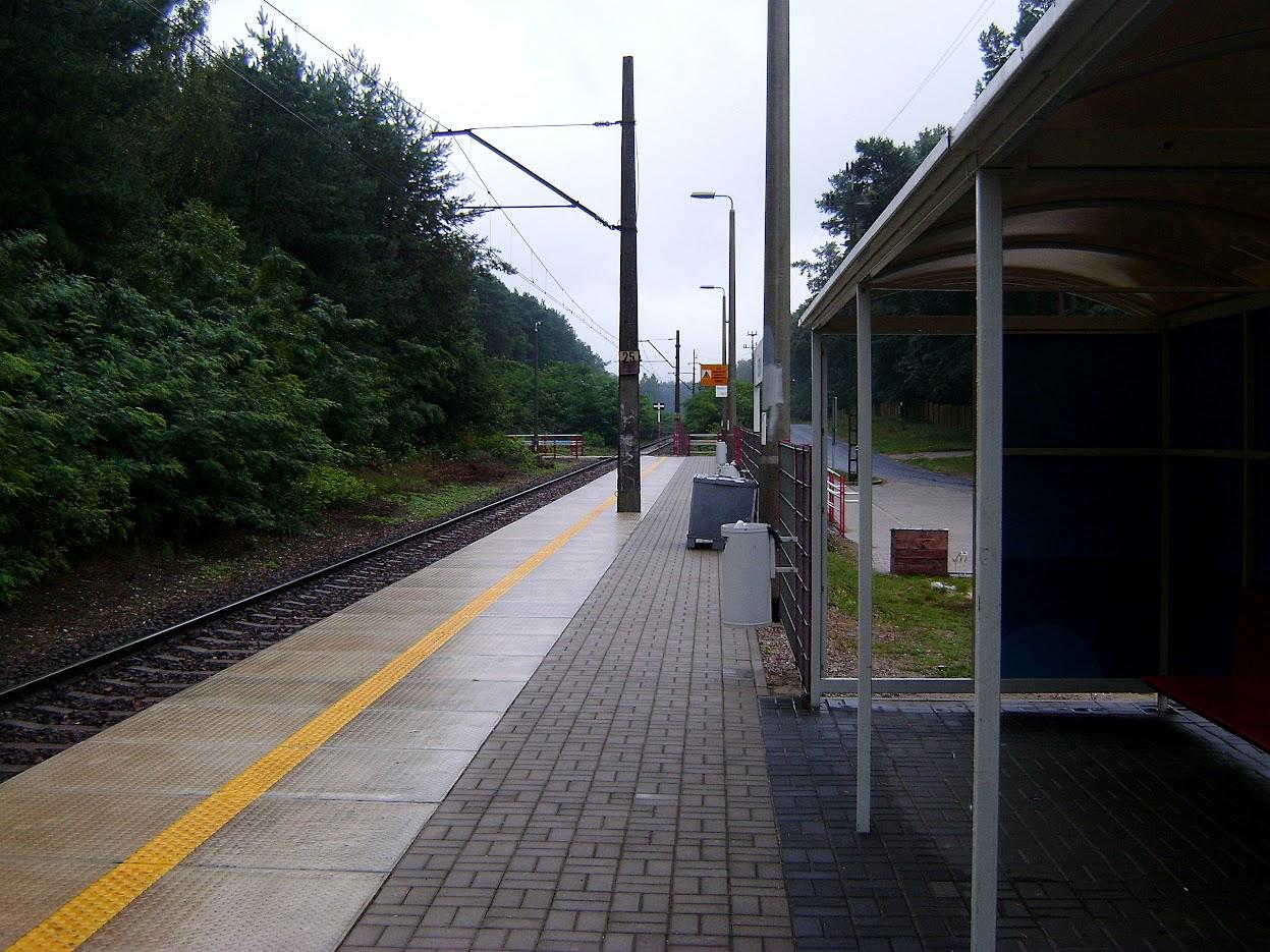 Grotniki, dworzec PKP