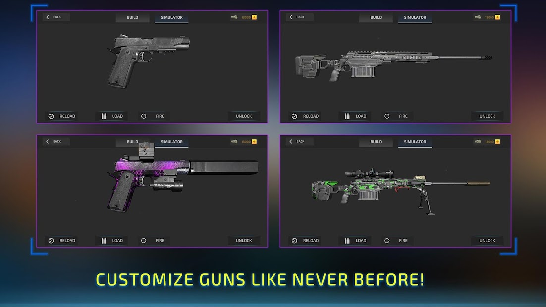 Ultimate Gun Simulator Game