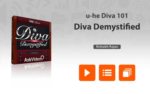 Course For u-he Diva 101