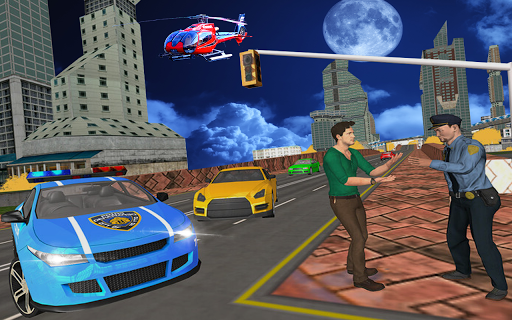Police Games Car Chase-Free Shooting Games apkmr screenshots 4