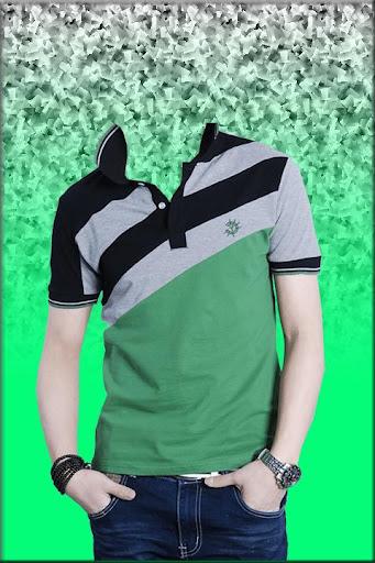 Man T Shirt Photo Suit