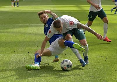 Mauvaise nouvelle pour Schalke 04 : fin de saison pour l'un de ses attaquants