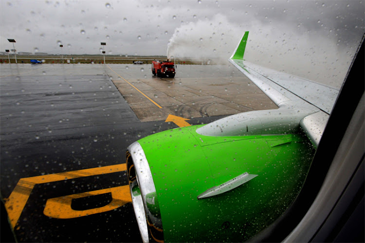 A Kulula.com Boeing at Lanseria airport in Johannesburg. Picture: SUNDAY TIMES