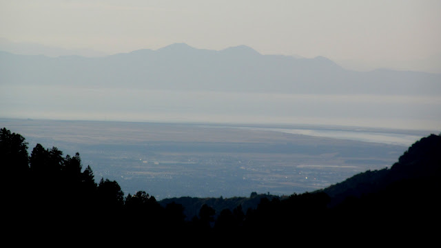 Long view into the Salt Lake Valley