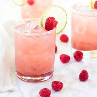 Raspberry Grapefruit Margaritas