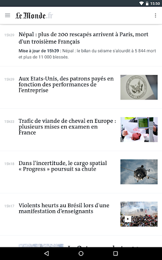 Le Monde, l'info en continu screenshot 14