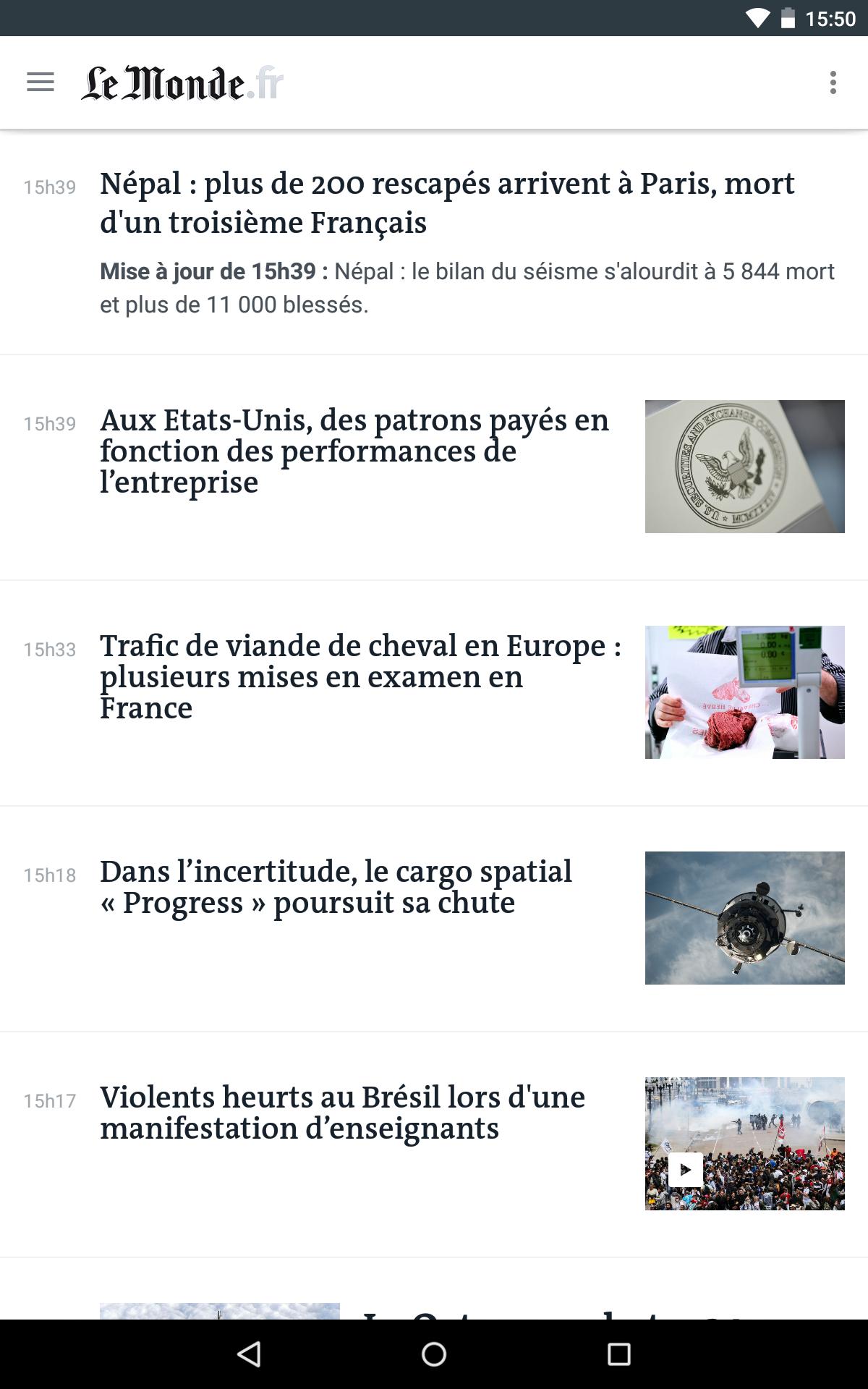 Le Monde, l'info en continu screenshot #15