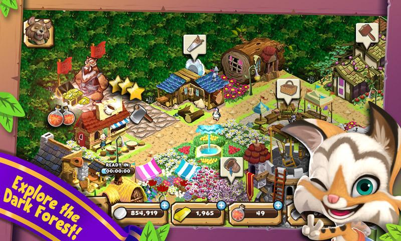 Brightwood Adventures:Meadow Village! screenshot 3
