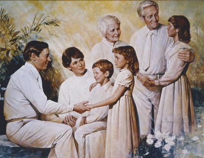 mormon funeral
