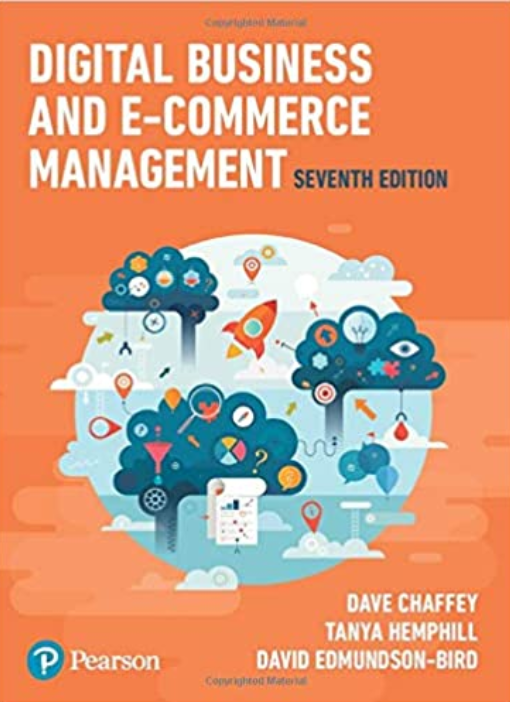 Digital Business and Ecommerce Management book