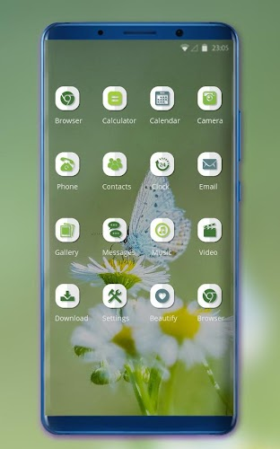 Download Theme for huawei nova 3i butterfly wallpaper APK
