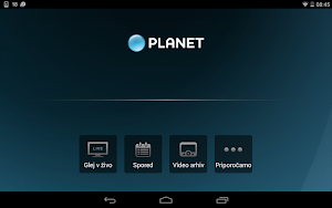 5 Planet Televizija App screenshot