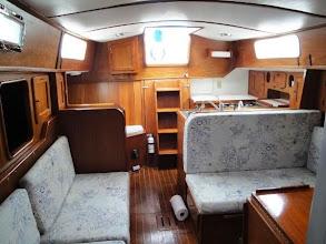 Photo: interior looking aft