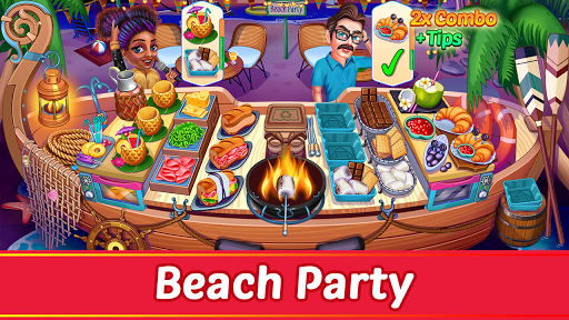 Cooking Party: Restaurant Craze Chef Fever Games apkpoly screenshots 14