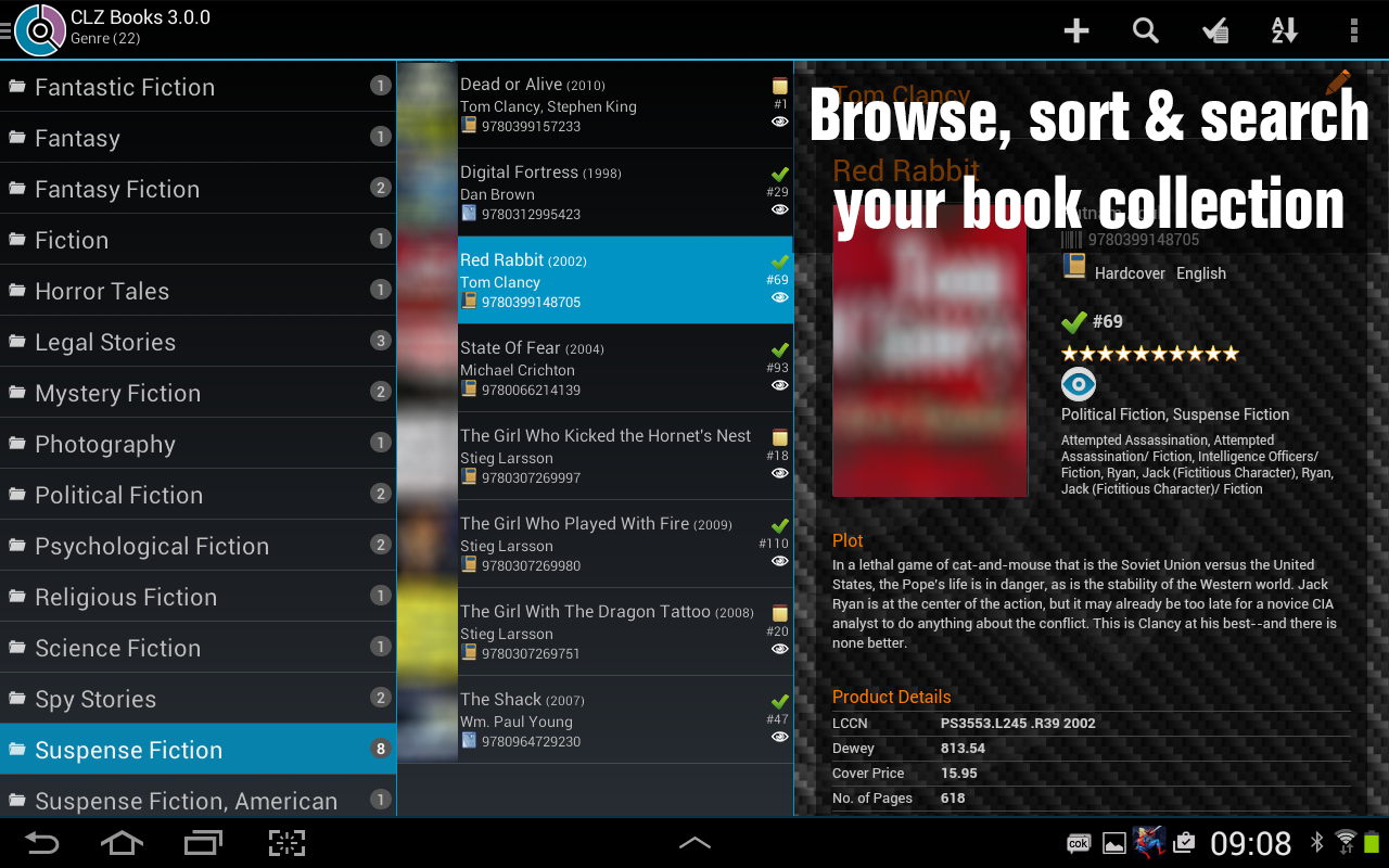 CLZ Books - Book Database - screenshot